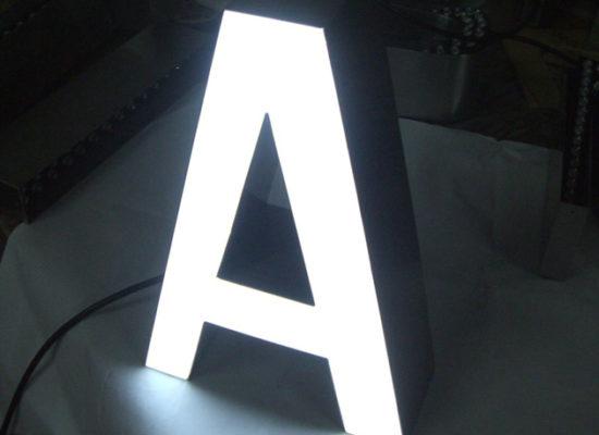 Светещи панелни букви